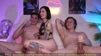 keokistar threesome fuck from model instagram 2021 04 09 part 2